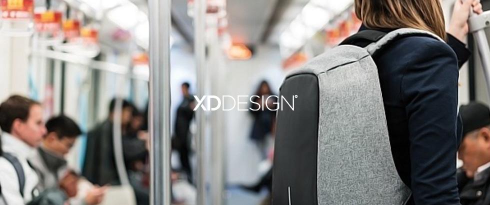 スリ被害を防ぐ多機能リュック|XD DESIGN