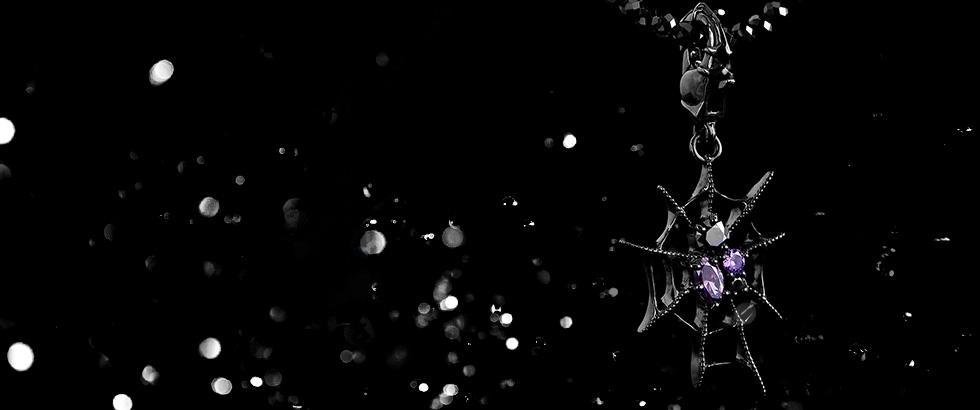 《オンラインストア限定 ブラックスピネルチェーン付き》漆黒のルテニウムコーティングVer.登場|ブラッディマリー(Bloody Mary)