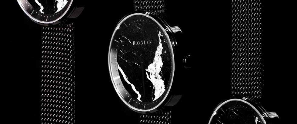 ドイツ・ベルリン発 天然石を贅沢に使用し製作する腕時計 ロクスリン(ROXXLYN)