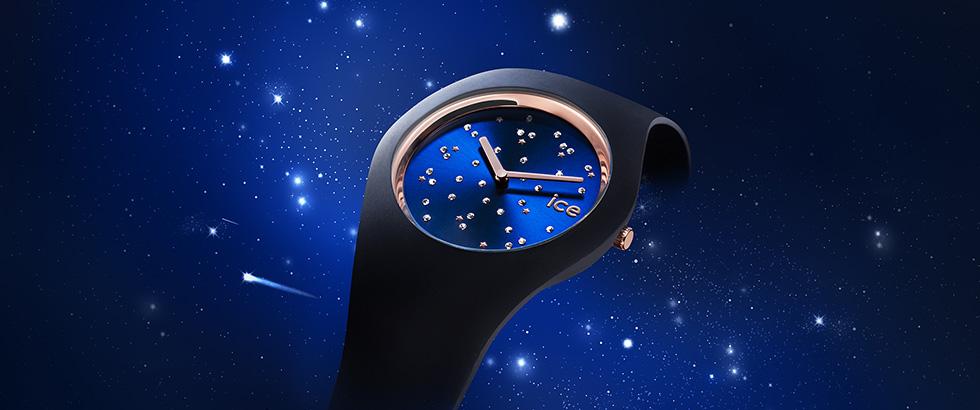 宇宙に広がる多彩な星をスワロフスキーで表現「ICE cosmos(アイスコスモ)」|アイスウォッチ(ICE-WATCH)