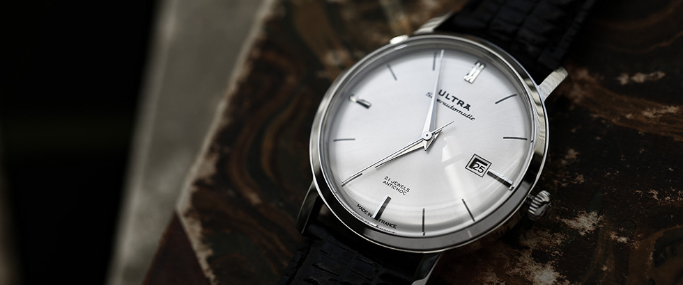 ヴィンテージ感が魅力。フランスの機械式時計|ウルトラ(ULTRA)