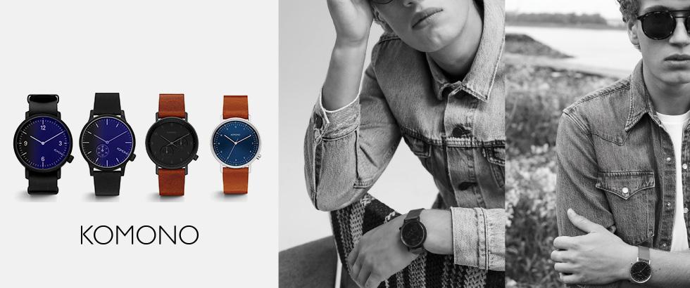 新作腕時計4型リリース|コモノ(KOMONO)
