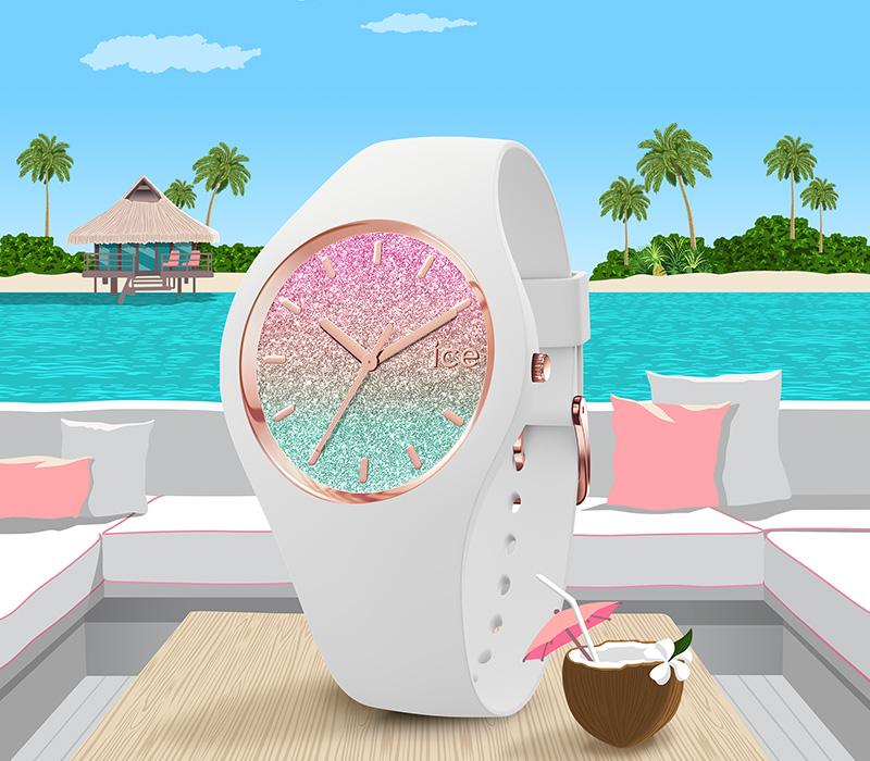 アイスウォッチ 夏 腕時計