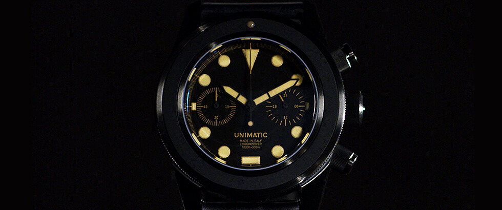 数量限定で生産されるイタリア発の【ウニマティック】に追加コレクションが登場|ウニマティック(UNIMATIC)