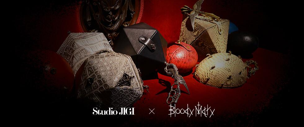 Studio JIGI × Bloody Mary コラボレーションコレクションが登場|ブラッディマリー(Bloody Mary)