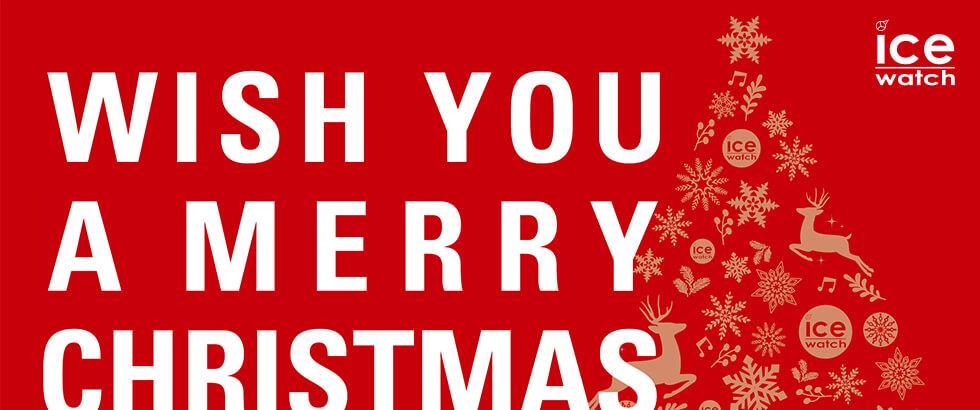 12月1日(日)より【アイスウォッチ クリスマスフェア】を開催|ICE-WATCH(アイスウォッチ)