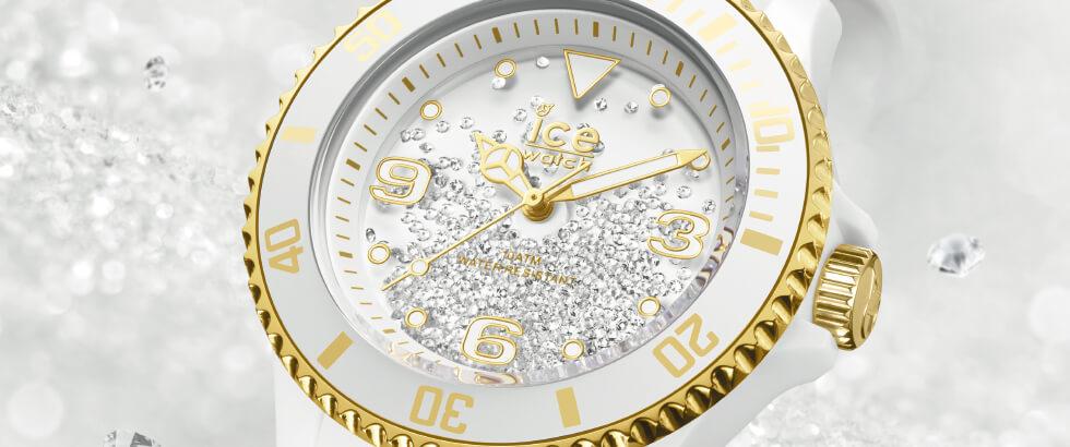 400粒のスワロフスキーが優美に舞う「アイス クリスタル」を発売|ICE-WATCH(アイスウォッチ)