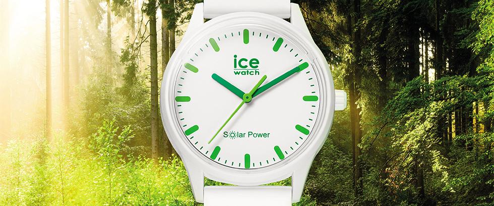 アイスウォッチより、初のソーラー腕時計が登場。地球のことを考える日「アースデイ」より全国発売。|ICE-WATCH(アイスウォッチ)
