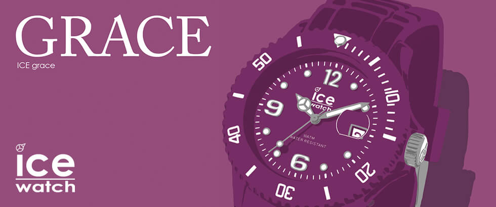 優雅な時を刻む新コレクション「ICE grace(アイスグレース)」異なる2つのモデルを大人カラフルな同色でラインナップ|ICE-WATCH(アイスウォッチ)
