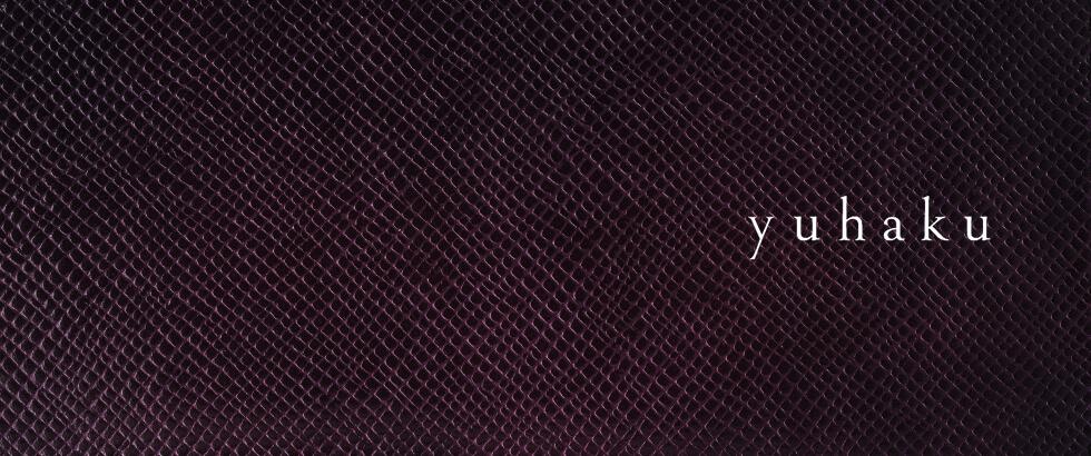 複数の色を手作業で重ねる染色技術を持つ「YUHAKU(ユハク)」から三つ折りコンパクトウォレットが入荷 YUHAKU